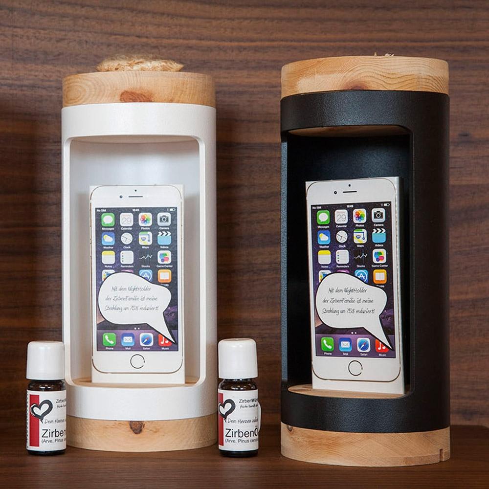 handystrahlung im schlafzimmer zirbenholz produkte. Black Bedroom Furniture Sets. Home Design Ideas