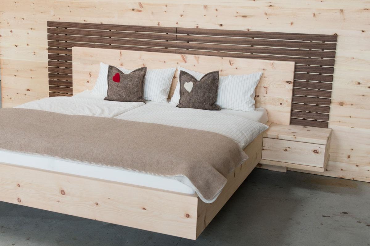 möbel aus zirbenholz, tischler manfred strantz, burgenland, Schlafzimmer entwurf