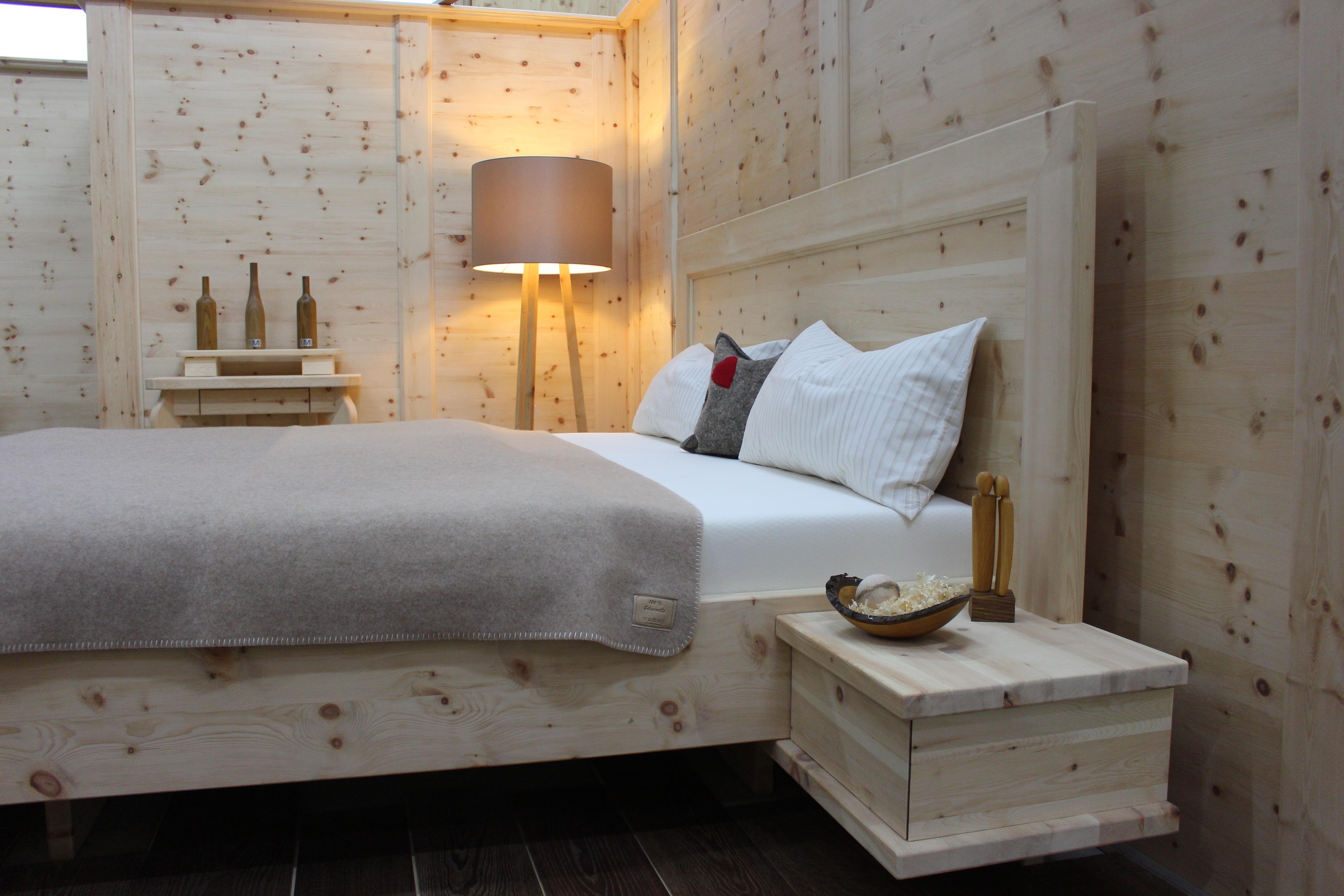 wirkung der zirbe | zirbe | strantz manfred - tischlerei für, Schlafzimmer entwurf