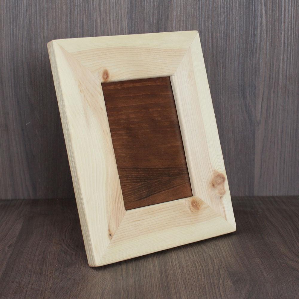 Bilderrahmen aus Zirbenholz | Zirbenholz-Produkte
